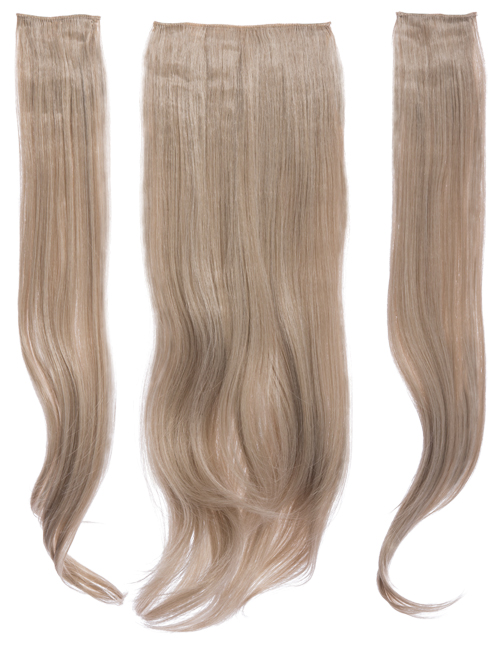 Three Pieces Natural Straight Clip in Extension