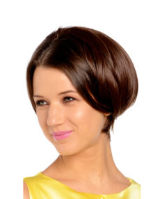 Posh-Short Half Head Wig