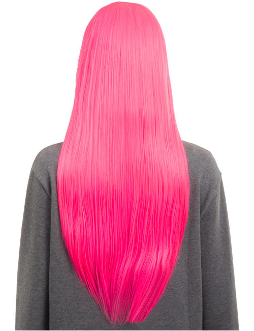 Colour Party Straight Full Head Wig
