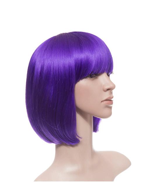 Colour Bob Full Head Wig 17 Colours Are Available