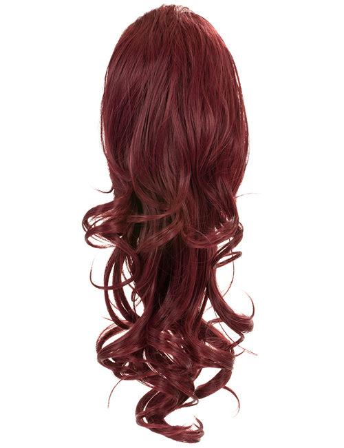 Blossom Curly Drawstring Ponytail