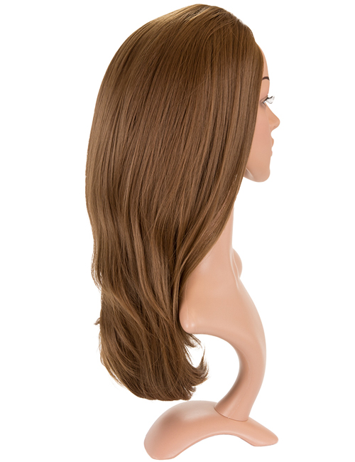 Angelina Revesible Synthetic Half Head Wig