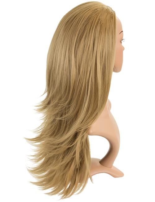 Angelina Revesible Synthetic Half Head Wig
