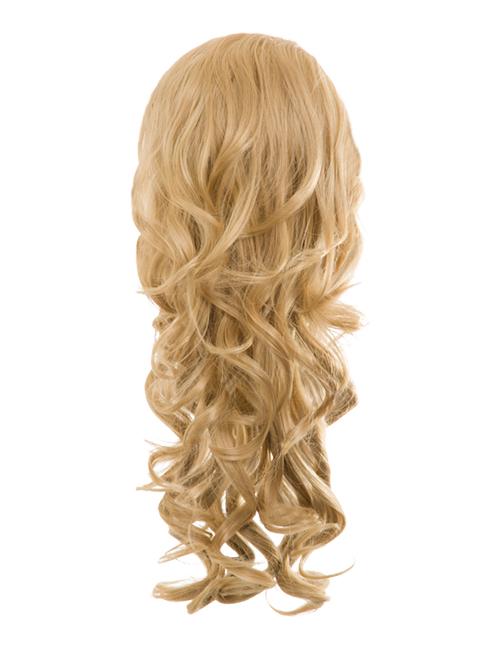 Blossom Curly Drawtring Ponytail