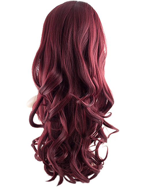 Eva Loose Curl Synthetic half head wig