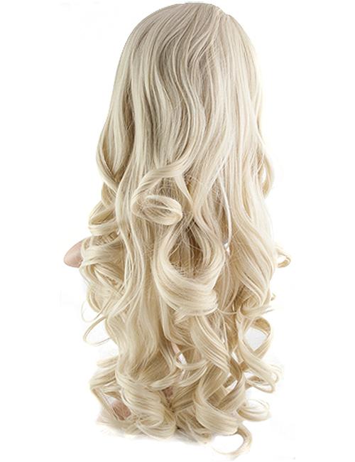 Eva Loose Curl Synthetic half head wig