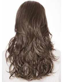 Lily Medium Wavy half head wig
