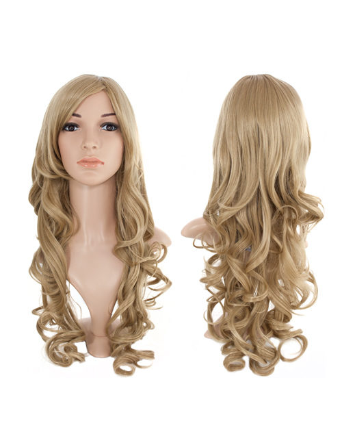 Olivia Extra Long Curly full head wig