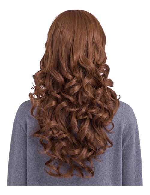 Olivia Extra Long Curly full head wig - G856 - Auburn 33/30