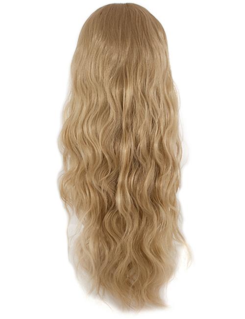 Grace Beach wave Synthetic Half head wig