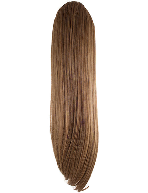 Tulip Drawstring and clip in Straight Ponytail Hair Extension