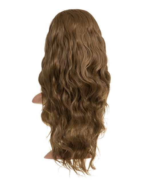 Grace Beach wave Synthetic Half head wig