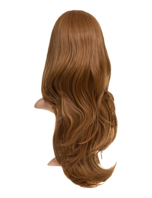Chloe Long natural wavy synthetic half head wig