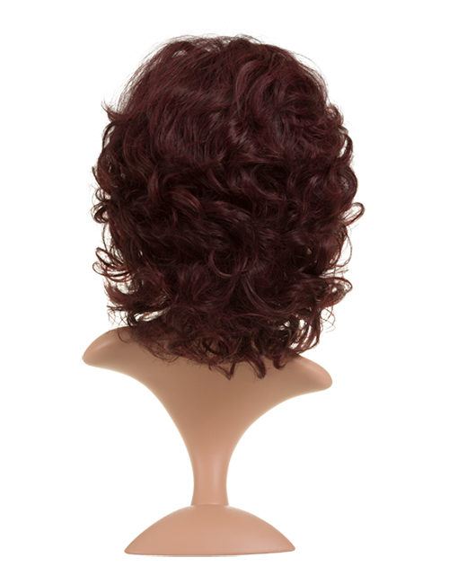 Tina - Short curly party hair full head wig