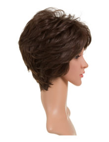 Carol Short Wavy Synthetic Full Head Wig