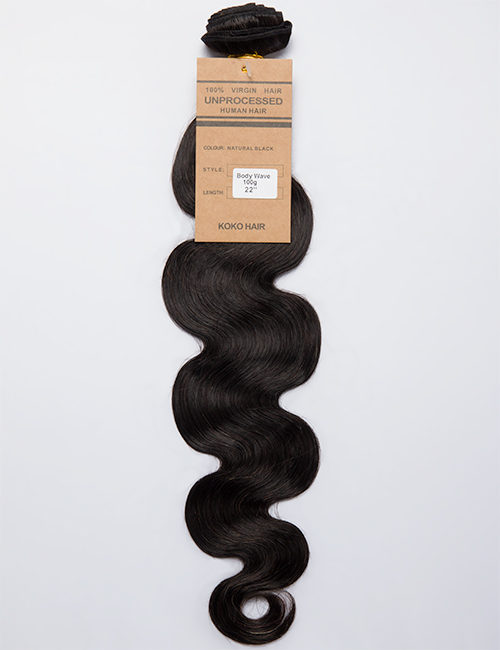 Virgin India Human Hair Weave Extension