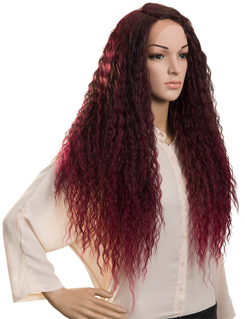 Lace Front Synthetic Full Head Wig