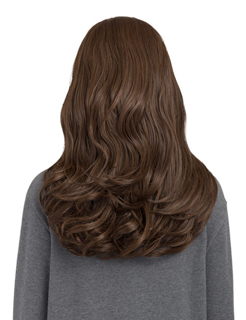 KOKO COUTURE Cheryl Reversible Curly Half-Head Wig (RRP: £29.99) - Bleach Blonde 60