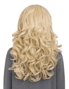 KOKO COUTURE Cheryl Reversible Curly Half-Head Wig (RRP: £29.99) - Bleach Blonde 60