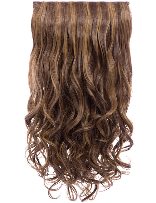 KOKO COUTURE Lena 3 Weft Curly 22″ Hair Extensions (RRP: £19.99) - 14/T16