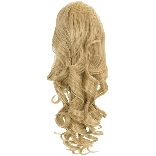 Blossom Curly Drawtring Ponytail - 1589B - California Blonde 613/16