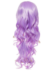 Colour party Curly Full head wig - 9317 (16 colours are available) - Plum DF115